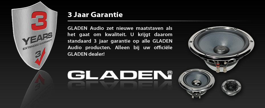 Gladen_garantie