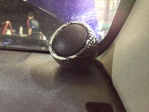 Rockford Fosgate Exclusive Car en Sign Wrap Tweeter Corsa Installer Battle