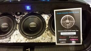 Rockford Fosgate kofferbak Exclusive Car en Sign Corsa Installer Battle