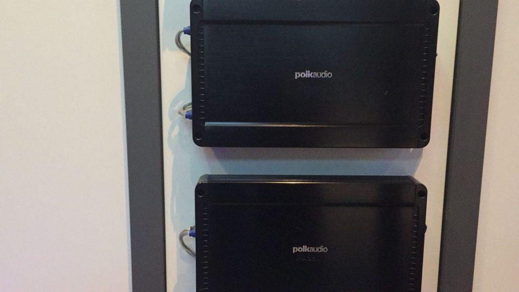 Ex Pol Audio demo amps set prijs 4 kanaal en mono €375,00