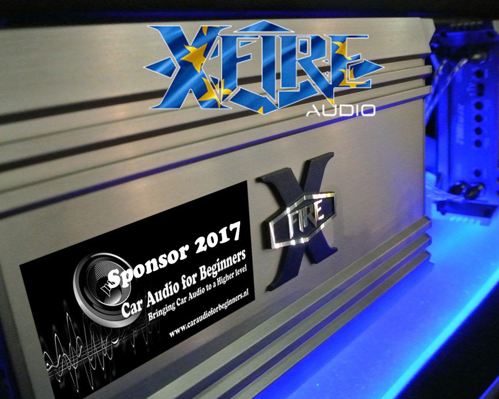 XFIRE Audio sponsor